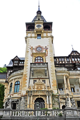 The magnificent Peles Castle (2012)