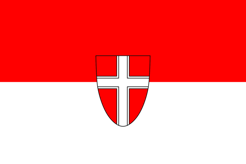 Soubor:Flag of Wien (state).png