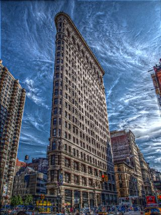 Flatiron Building on Manhattan HDR.jpg