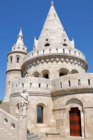 Fisherman's Bastion has seven towers representing the seven Magyar tribes that settled in the Carpathian Basin in 896.