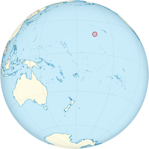 Johnston Atoll on the globe (small islands magnified) (Polynesia centered).png