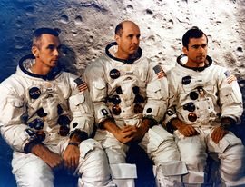 The three prime crew members for the Apollo 10 mission (Cernan, Stafford and Young).jpg