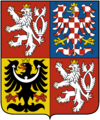 Coat of arms of the Czech Republic.png