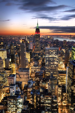 United States, New York, Empire State Building, View From the Top of the Rock.jpg
