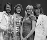 ABBA in AVRO's TopPop in 1974